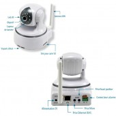 Caméra IP Full HD motorisée WiFi