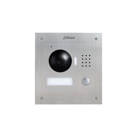 Caméra d'interphonie 1MP 2.8 mm 75° angle IP54 IK07 12/24V Cablage réseau