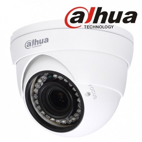 Eye ball DAHUA HDCVI/ANALOGIQUE 2 MP 3.6 mm IR20m Dwdr12 Vdc plastique