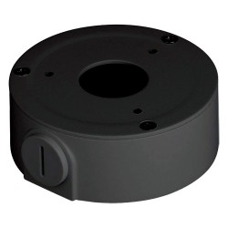 Boite de raccordement alu diam. 110 x 33.5mm VERSION NOIR