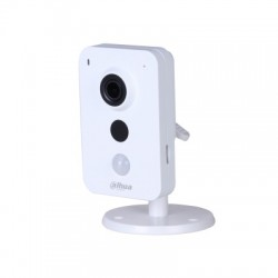 Carré DAHUA IP WIFI 3MP 2.8 mm IR10m Détecteur PIR dWDR 12Vdc Slot SD