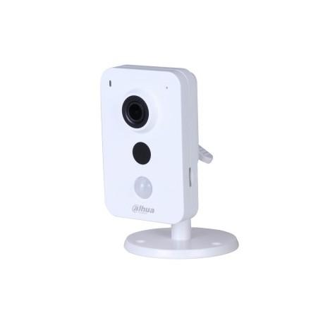 Carré DAHUA IP WIFI 3MP 2.8 mm IR10m Détecteur PIR dWDR 12Vdc Slot SD