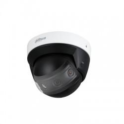 Caméra AV DAHUA 180° 4x2MP H264 25 ips 4096x1800 IR30m SD IP67 IK10 POE