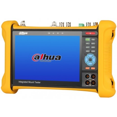 Testeur DAHUA HDCVI/ANALOGIQUE/4MP delivre du 12Vdc et POE aux caméras connectées
