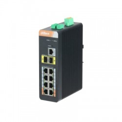 Switch gigabit 10ports avec PoE Gigabit 8 ports (Géré)commutateur PoE/EEE802