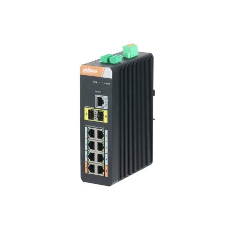 Switch gigabit 10ports avec PoE Gigabit 8 ports (Géré)commutateur PoE/EEE802