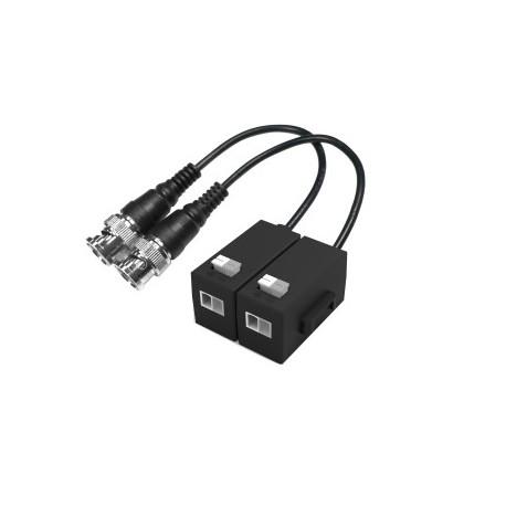 Balu transmission Dahua HDCVI sur UTP CAT5/6 MP 400m 2MP 250m