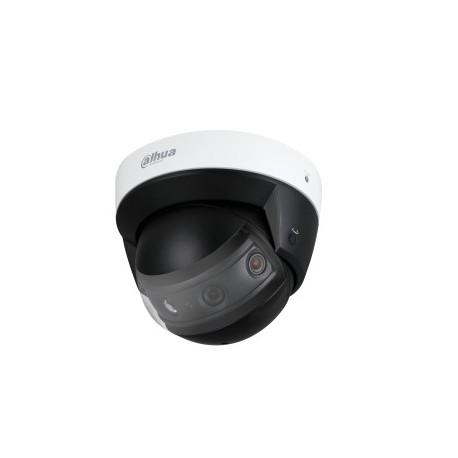 Caméra réseau panoramique à dôme IR multi-capteurs 4x2MPQuatre CMOS à balayage progressif IR30, IP67, IK10, PoE +