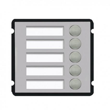 Module d'interphonie 5 boutons d'appel version multi modules Dahua