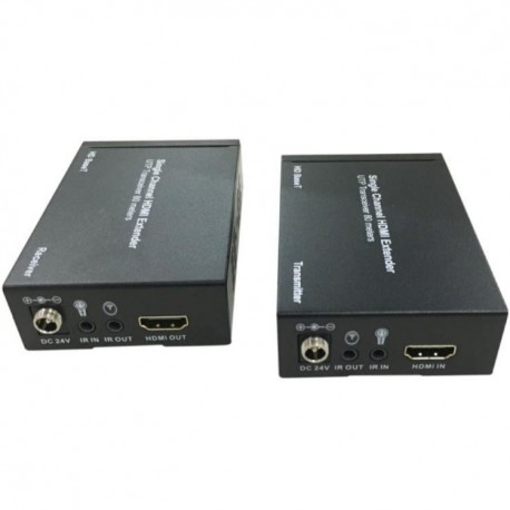Boitier d'extension HDMI sur câble réseau 40m en 4K ou 80m en autre résolution DAHUA