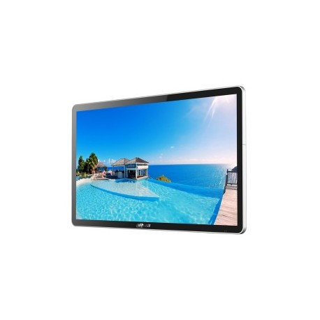 Affichage numérique mural 49 '' HDMI, VGA, entrée / sortie audio, USB, carte SD Fixation standard VESA 400x400 / Poids: 15KG