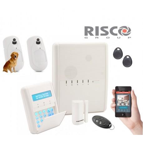 Kit Alarme Agility 4IP+GSM 2 PIR CAM