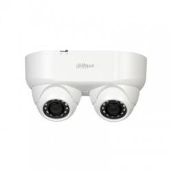 Caméra double objectif Starlight HDCVI IR 2MP