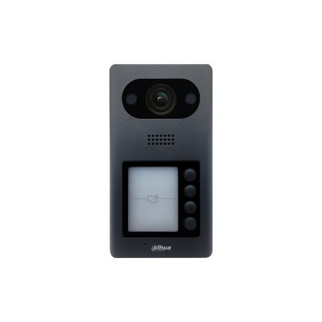 Module interphone caméra 2MP IP65 IK084 boutons d'appel lecteur Mifare