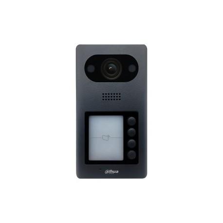 Module interphone caméra 2MP IP65 IK084 boutons d'appel lecteur Mifare