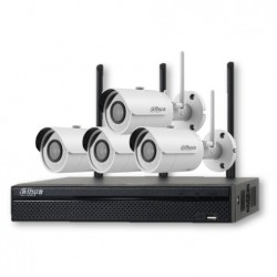 Kit Wi-Fi 720pNVR4104 4 HFW