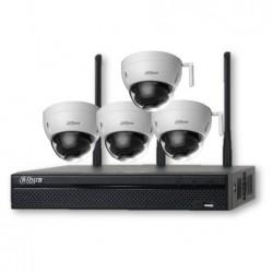 Kit Wi-Fi 720p NVR4104 4 HDBW