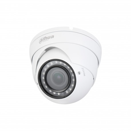 Eye ball DAHUA HDCVI/ANALOGIQUE 2 MP 2.7x12 mm IR30m IP67 Dwdr 12Vdc