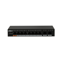 Commutateur PoE Fast Ethernet 8 ports