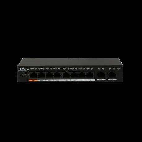 Commutateur PoE Fast Ethernet 8 ports