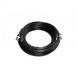 Câble coaxial RG-59 combiné vidéo / alimentation 10M - Spécial HD