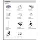 Dôme AV PENTABRID switch sur câble 6MP  2.7 x 12mm zoom IR30m IP67 IK10 12Vdc DAHUA