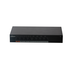 Switch Dahua 8 ports Gigabits dont 4 PoE - PFS3008-8GT-60