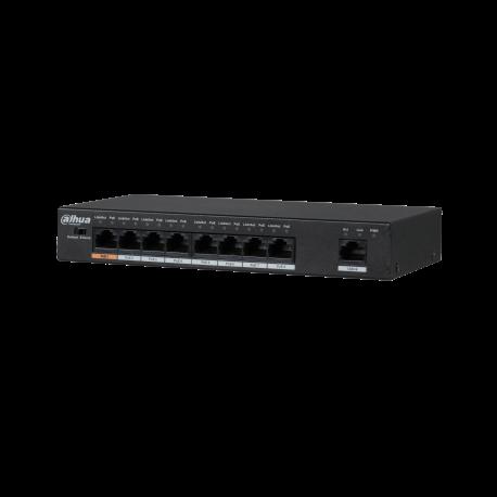 Switch 9 ports 8*10/100Mpbs PoE