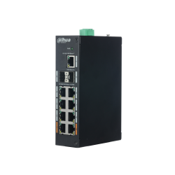 Switch Dahua 11 ports Gigabit dont 8 ports PoE - PFS3211-8GT-120