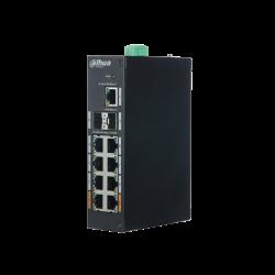 Switch Dahua 11 puertos Gigabit incluyendo 8 puertos PoE - PFS3211-8GT-120