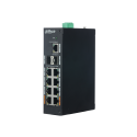 Switch Dahua 11 ports Gigabit dont 8 ports PoE - PFS3211-8GT-120