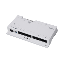 Switch 8 ports Interphonie DAHUA 24V 40 W Prévoir alimentation