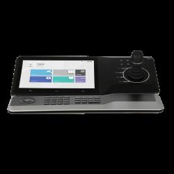 Joystick des fonctions PTZ / Prise en charge 4K  /  En option: clavier de contrôle réseau - NKB5000