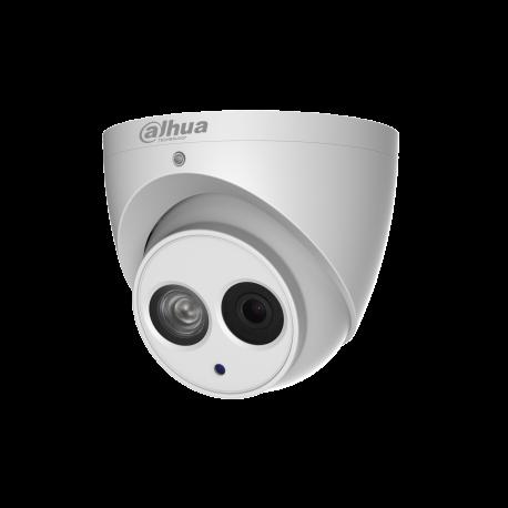 Eye ball DAHUA 4MP H265 2.8 mm AUDIO IR50m IP67 12V/POE Micro SD