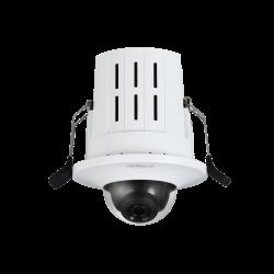 Caméra réseau mini dôme à montagem encastré HD 4MP AUDIO IK 08 - IPC-HDB4431GP-AS-S2
