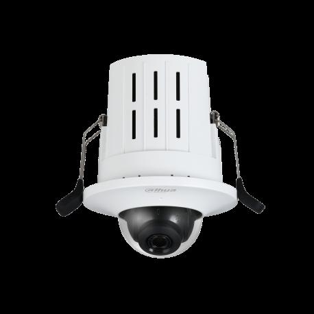 Caméra réseau dôme à montage encastré HD 4MP