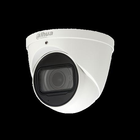 Eye ball IP 8MP 2.7 x12mm Zoom IR50m IP67 WDR 12 Vdc/POE slot SD Micro intégré Dahua