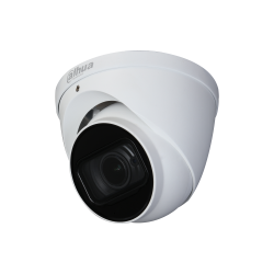 Eye ball AV PENTABRID Switch no cabo 6MP 2.7x13.5mm Zoom IR30m IP67 IK10 12Vdc Dahua - HAC-HDW2601T-Z-A