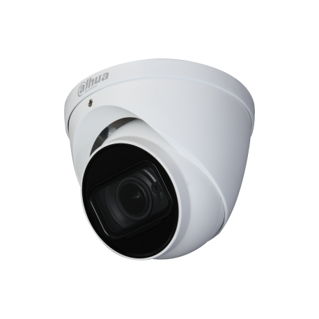 Eye ball AV PENTABRID Switch sur câble 6MP 2.7x13.5mm Zoom IR30m IP67 IK10 12Vdc Dahua