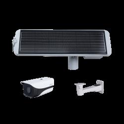 Kit Caméra Réseau Solair IR 4G de type Bullet 2 mégapixels - IPC-HFW4230MP-4G-AS-I2