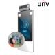 UNV - Terminal de mesure de température au front + Détection du port de masque