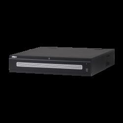 Enregistreur DAHUA  IP 64 voies 384 Mbps jusqu'à 4K VGA/2HDMI 8HDD 2 sorties réseau