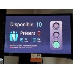Pack Comptage de personne sans écran - sortie HDMI