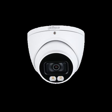 Dahua Caméra oculaire Starlight HDCVI couleur 5MP - HAC-HDW1509T-LED