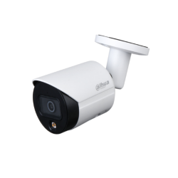 Dahua Caméra réseau Bullet à focale fixe couleur 4MP Lite - IPC-HFW2439S-SA-LED-S2