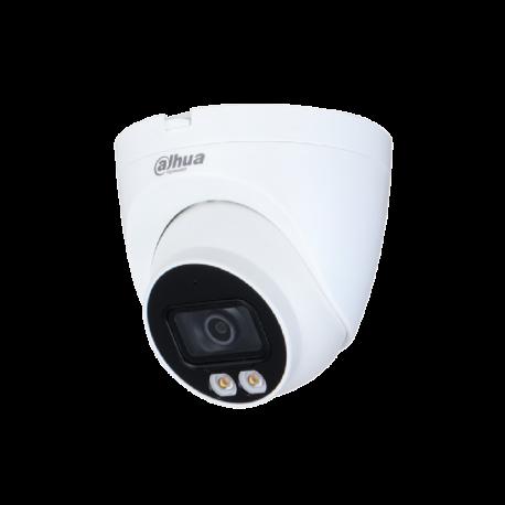 Dahua Caméra réseau oculaire à focale fixe couleur 4MP Lite - IPC-HDW2439T-AS-LED-S2