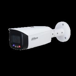 Dahua Caméra réseau WizSense à focale fixe à détection active polychrome de 5 mégapixels -IPC-HFW3549T1-AS-PV