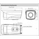 Caméra Réseau IR 4G de type Bullet 2 mégapixels - IPC-HFW4230MP-4G-AS-I2