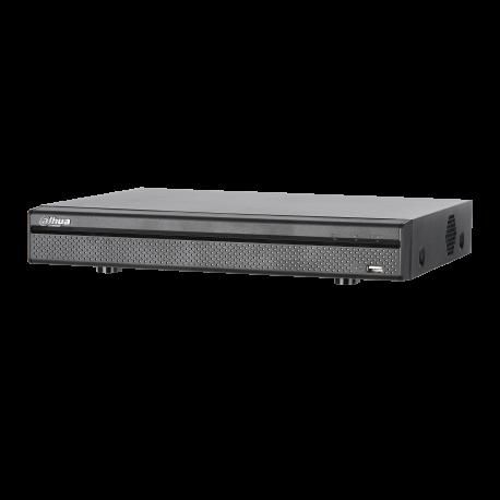 Dahua Enregistreur vidéo numérique Penta-brid 1080P Mini 1U 8 canaux -XVR5104/08H-X-8P
