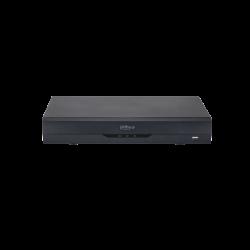 Dahua Enregistreur vidéo numérique Penta-brid 4K-N / 5MP Mini 1U WizSense 16 canaux - XVR5116H-4KL-I2